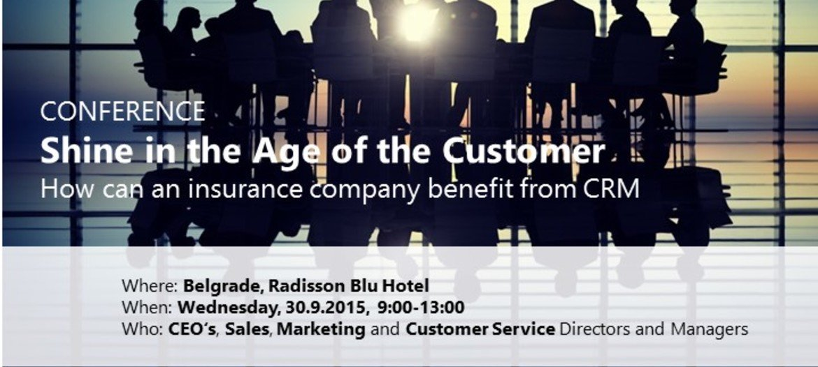 CRM Conference for the insurance industry
