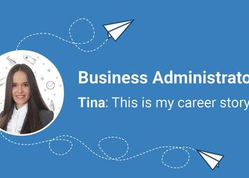Business Administration is just a first step in your career at Adacta