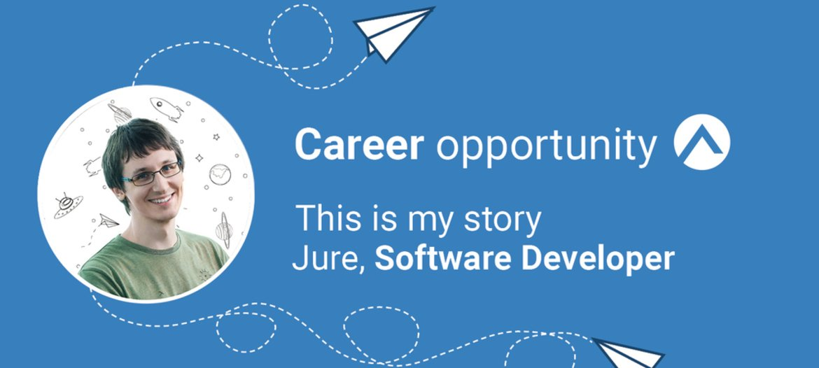 What the job of Software Developer is like at Adacta Fintech, with Jure