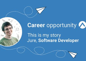 What the job of Software Developer is like at Adacta, with Jure