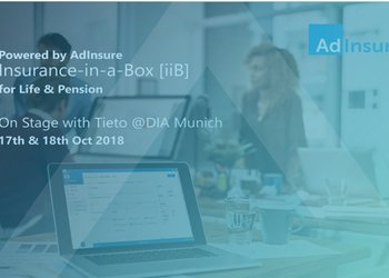 Tieto's Insurance-in-a-Box [iiB] powered by Adacta's AdInsure - Live Presentation at DIA Munich